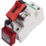 Dispositivo eléctrico Bloqueo universal de disyuntores de circuitos en miniatura