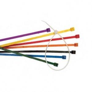 Bridas de nailon de colores
