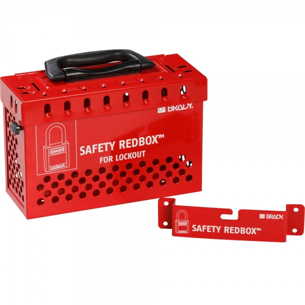 Caja de bloqueo para grupos SAFETY REDBOX™