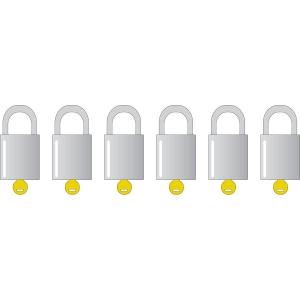 Amaestramiento de candado con la misma llave