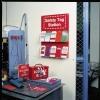 Estación para etiquetas de seguridad
