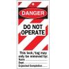 Etiquetas de advertencia de riesgos maquinaria