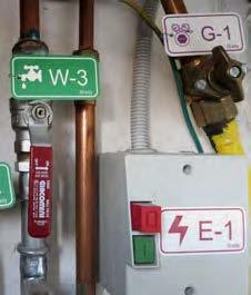 Etiquetas para fuentes de energía