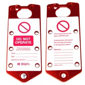 Mandíbulas de seguridad con etiquetas