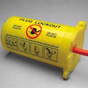 Sistema de bloqueo de enchufes eléctricos 3 en 1