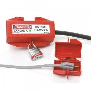 Sistema de bloqueo de enchufes eléctricos