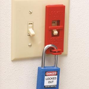 Sistemas de bloqueo de interruptores de pared