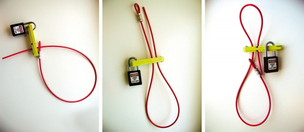 Dispositivo de bloqueo Scissor-Lok