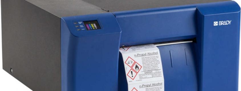 Impresora de etiquetas a color BradyJet J5000