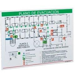 Planos evacuación