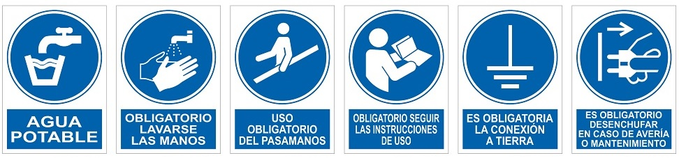 Señales uso obligatorio