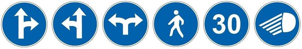 Señalización vial Obligación