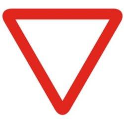 Señalización vial peligro
