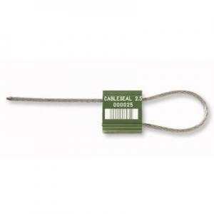 Precinto metálico de seguridad tipo ajustable CABLE SEAL 2.5