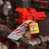 Ejemplo uso Safekey Lockout / Tagout candado con arco de acero
