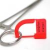 Etiqueta plástico para afilar instrumento clínico